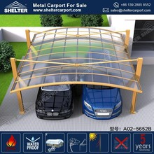 2017 Latest Fashional Design Car Parking Shed Garage Sun Shade Canopy Carports For Driveway Gate