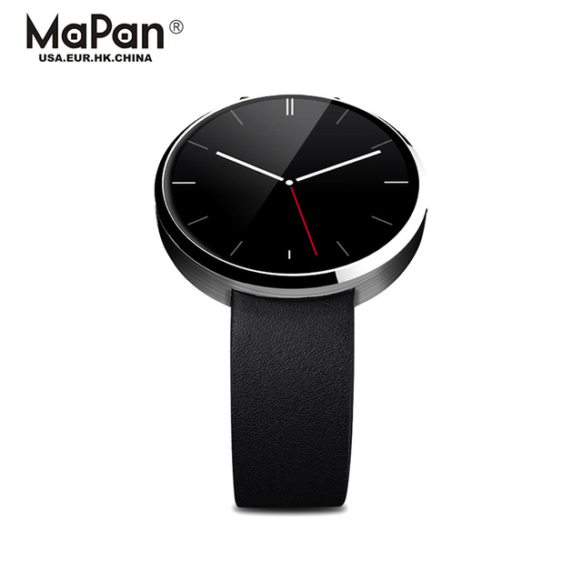Hot Sale MaPan Leather Smart Wrist Watch 1.22 inch IPS all function