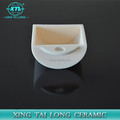 High quality 99.7% alumina ceramic crucible,Ceramic boat