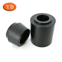 Dongguan Supplier HDPE/PE/PA Cnc Machining Milling Parts,Black Delrin Cnc Plastic Machining