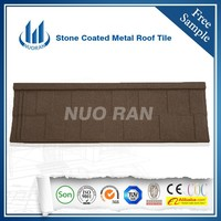 Nuoran Color Stone Coated Roofing Shingles/Aluminum Zinc Steel Roof Tiles