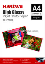 inkjet glossy instant dry photo paper
