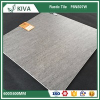 Foshan 600x600mm non-slip bathroom rustic floor porcelain tiles for plans house grey color