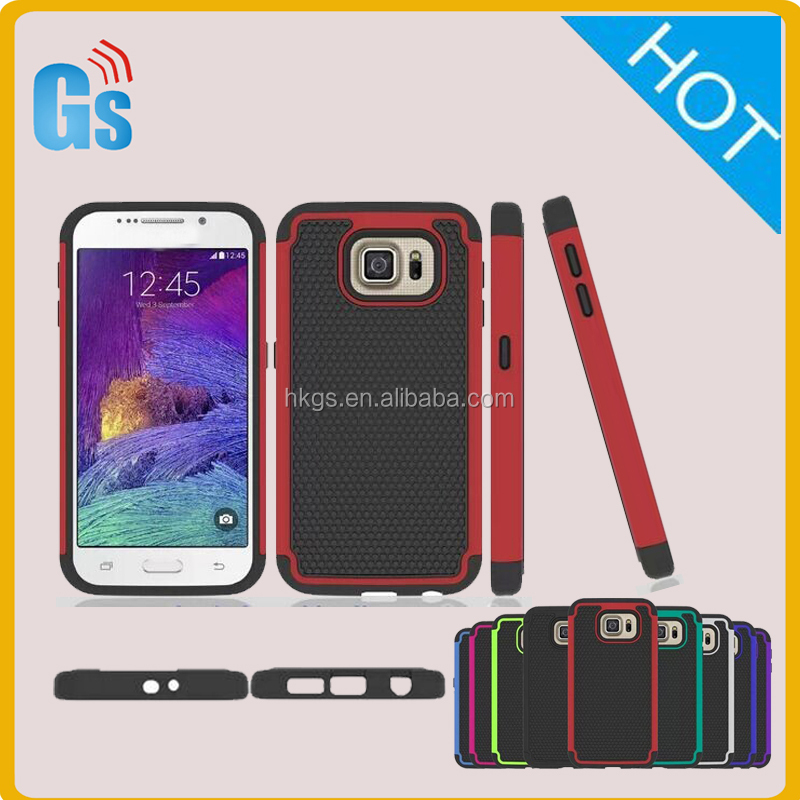 Most Popular USA Premium Football Hybrid Gel Pc Case Cover For Samsung Galaxy S6 G9200 G920