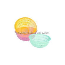 high quality cheap price small plastic food basket/round plastic basket/plastic baskets with hole
