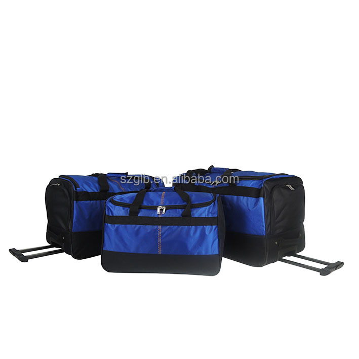 Hot sale new durable travelling sports trolley wheeled bag