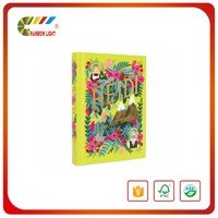 Super quality promotional free design art paper color custom book printing