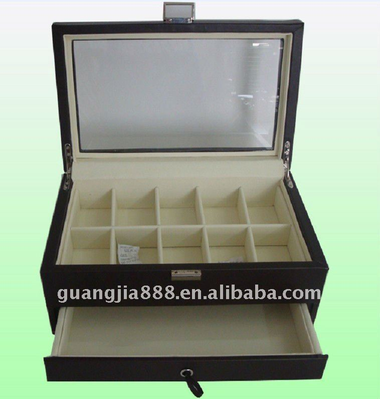 watch box for 10 collectors and jewelries