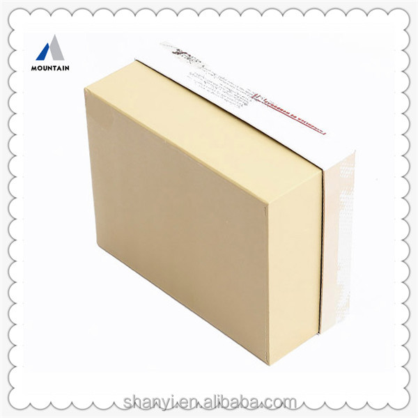 Mountain packaging templates paper box
