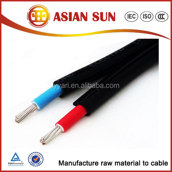 TUV certificate Tinned Copper DC Solar Panel Cable Solar PV Cables cables