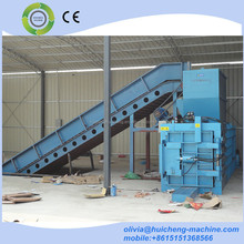 Hydraulic carton compress baler machine / used tire baler / scrap tire baler machine
