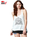 Wholesale womens sexy open twist back cotton tank tops