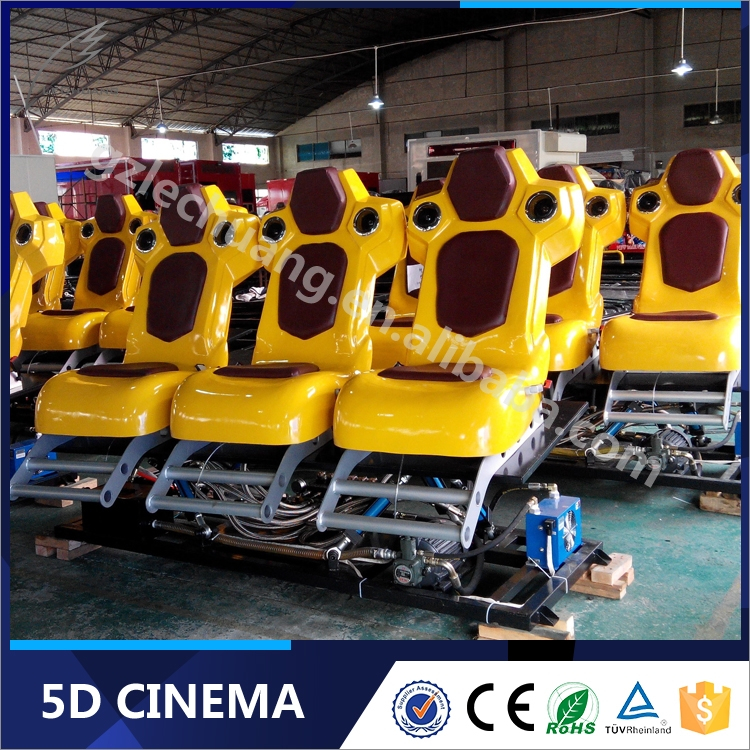 Guangzhou VR Electric Minivan 5D Motion Cinema with Luxury / Standard Seats