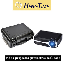 Hengtime China Supplier Waterproof Portable Video Projector Protective Tool Case with foam inserts