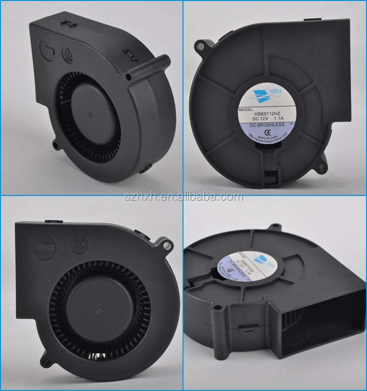 China supplier HXH brand 12v turbo fan centrifugal industrial cold air blowers