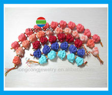 Popular Hot Sale Colorful Beads Laugh Buddha Charms
