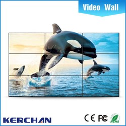 ultra narrow bezel 46/55 inch led video wall price on sale with original panel on b2b china