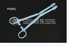 Plastic Sponge Holder forcep 18cm long For Medical Used
