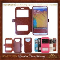 Good Quality Newest Oem Pu For Lg G3 Case