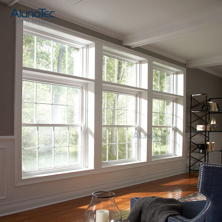 America Style Double Hung Window Retro-Fitted Sash Windows Vertical Sliding Sash Windows