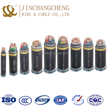 underground transmission line Copper XLPE insulated poewr cable 8.7/15KV low voltage power cable