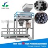 280bag/hour cleaned compressed briquette coal packaging machine