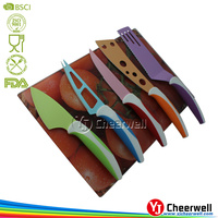 5pcs cheese spreader, cheese cutter, cheese knife with cutting board