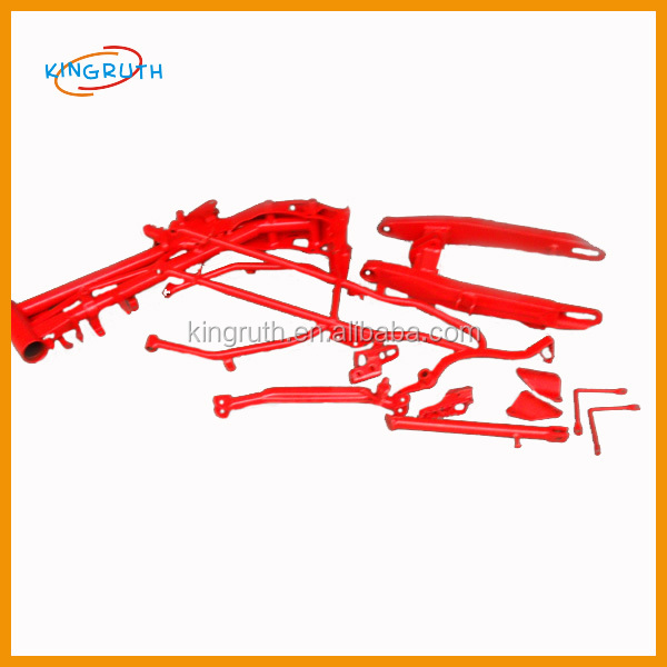 Spare parts frame CG125 motorcycle