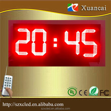 "8""10"" 12""16""18""20""24""inch Outdoor LED petrol gas price station /7 segment digits LEDTime Temperature display sign"
