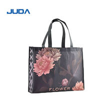 Wholesale Price Custom Printed Eco Friendly Recycle Reusable PP Laminated Non Woven Tote Shopping Bags