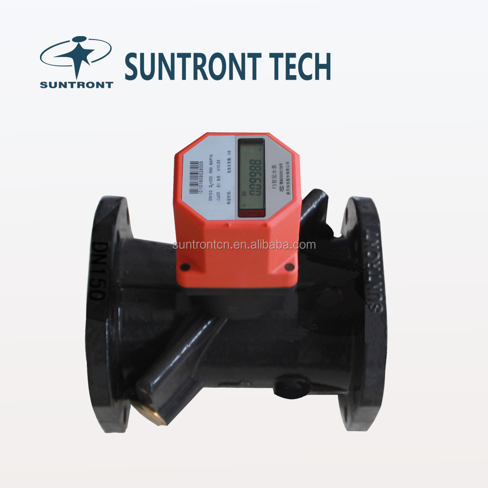 Industrial 150mm Ultrasonic Water Flow Meter