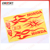 HAISSKY Motorcycle fuel Tank Sticker reflective decals for motorcycles stickers