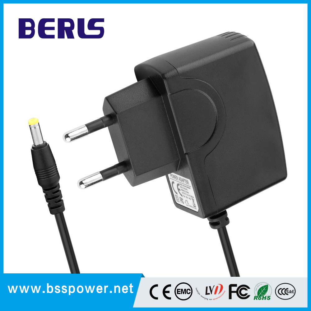 China Manufacturer AC 110v 220v To DC 5V 2.5A 7.5V 1A 9V 1A power adapter