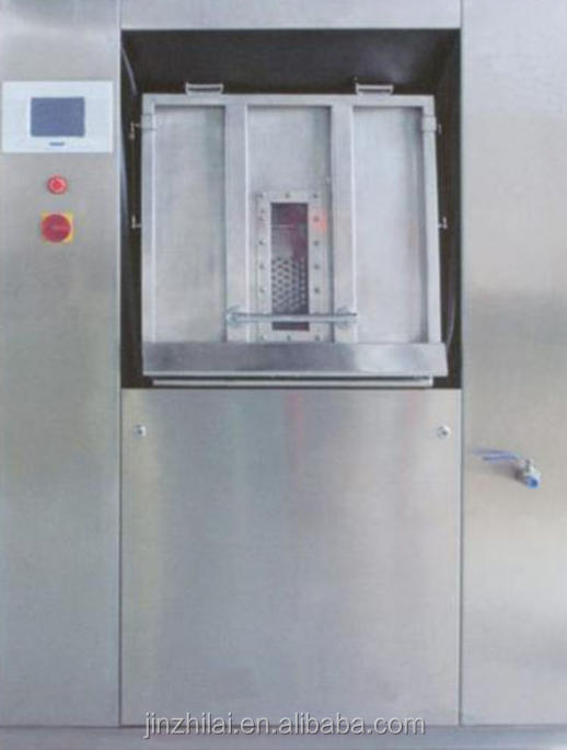 Freestanding barrier washer extractor washing machine,specifically for hospital
