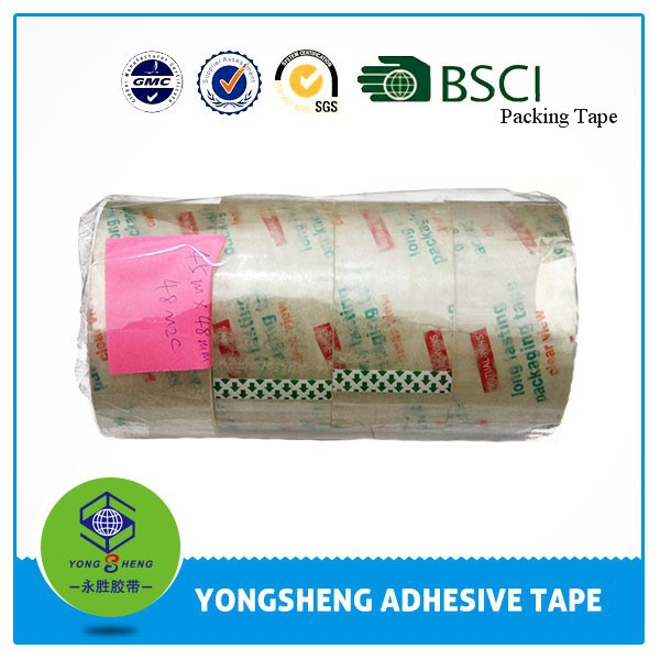 Colorful tapes factory cheap offer bopp jumbo roll tape