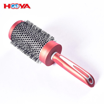 wholesale Professional Anti Static Detangling Round Barrel Blow Dry Hair Brush