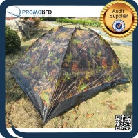 4 Season Outdoor Camping Waterproof Single layer Camouflage Tent