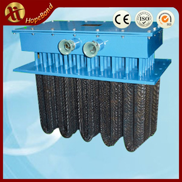Industrial electric high temperature air duct heater for room space heating