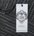 OEM Custom Garment Logo Hang Tag String Lock Plastic Sealing Tag for Clothing