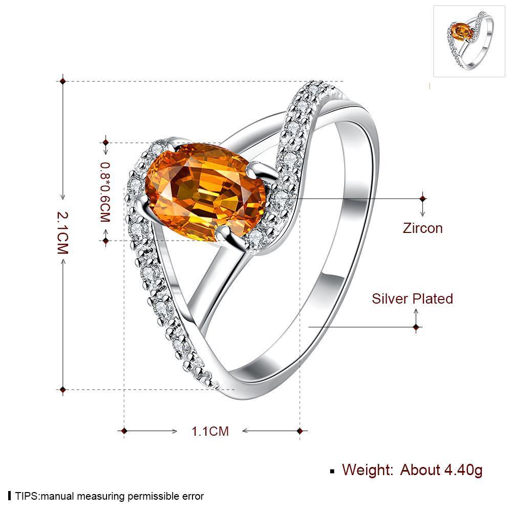 Wholesale Fashion Style Yellow Stone Sterling Silver Ring Value Of Sterling Silver Ring Yellow Stone Silver Ring