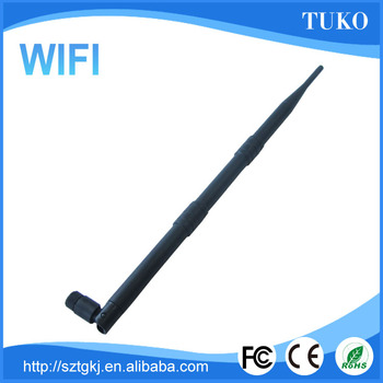 Wholesale top quality 9db SMA connector rubber duck indoor direct high gain wifi antenna