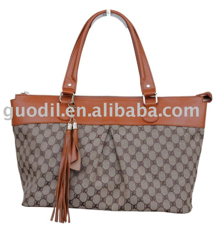 SUMMER LATEST design fashion canvas lady handbag