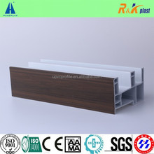 european style colorful Co extrusion Pvc profiles for Plastic windows and doors