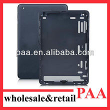 For iPad Mini Back Cover Housing, Black Aluminum Back Cover Replacement for Ipad Mini WI-FI