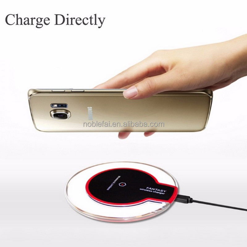 QI Charging Pad Wireless Charger Charging for Google Nexus 6 7 MOTOROLA NOKIA LG SAMSUNG GALAXY S6 Edge Plus S7 Edge / Note 5
