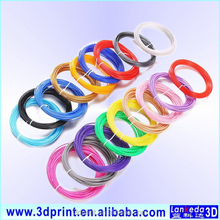 free samples available abs plastic filament 1.75mm for 3d drawing pen