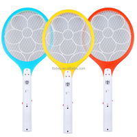 2015 CE&ROHS rechargeable pest control electronic fly insect swatter