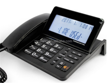2016 Telephone with Large LCD corded home phone