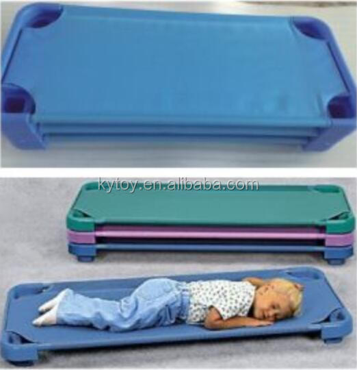 Kids Colorful Folding Bed for day care center