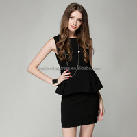 new Sleeveless korean dresses new fashion lady dress